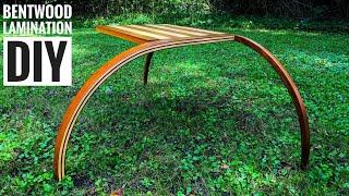 How to Easily Bend Wood || AMAZING Bent Wood lamination