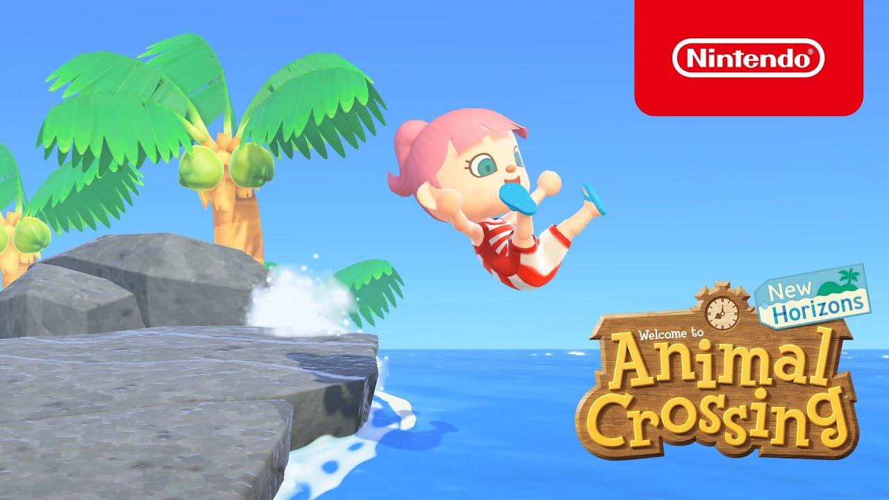 El 3 de julio llega una actualización de verano a Animal Crossing: New Horizons (Nintendo Switch)