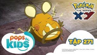 Pokémon Tập 271 -  Harimaron! Những Việc Vặt Đầu Tiên - Hoạt Hình Pokémon Tiếng Việt  S18 XY