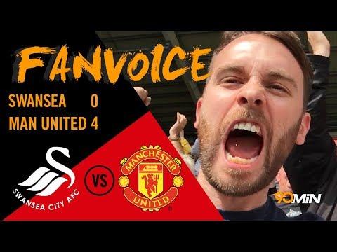 Man United smash Swansea 4-0| Pogba Martial and Lukaku score Swansea 0-4 Man United | 90min FanVoice