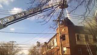 5 Alarm Fire in Port Washington, NY 3/14/2013