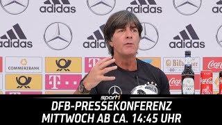 ReLIVE 🔴   DFB-Pressekonferenz   13.06.   WM 2018   SPORT1