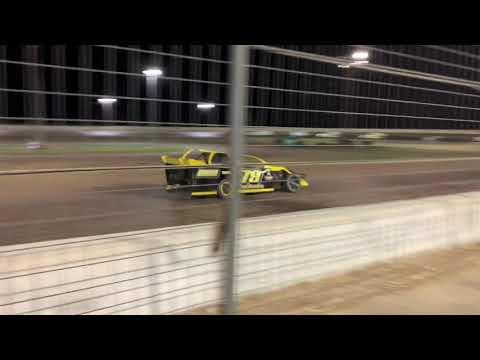 limited modified Texana Raceway Park opening night