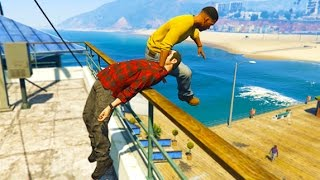 GTA 5 CRAZY Life Compilation #16 (GTA V Fails Funny Moments)