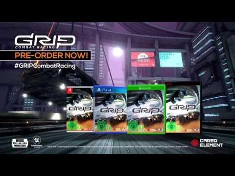 GRIP: Combat Racing - Out November 6th! [PEGI]