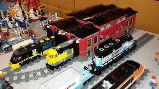 Lego City Update: Train Yard And Future Plans