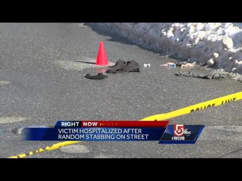 Random stabbing in West Newton Square