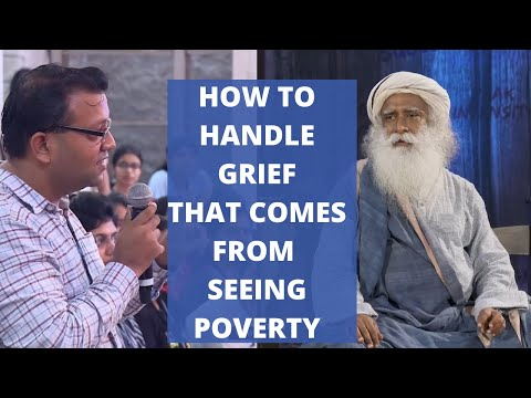 How do I Face The Unfortunate Reality of Poverty in The World? | Sadhguru | Youth & Truth