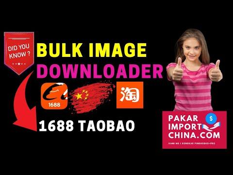 Lubuk China - Bulk Image Downloader 1688 Taobao Yupoo