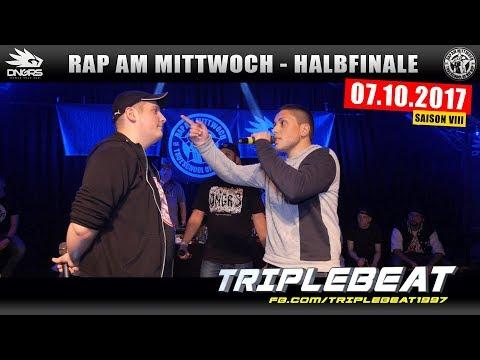 RAP AM MITTWOCH HAMBURG: 07.10.17 Halbfinale feat. TRIPLEBEAT, CH0ME, TEACH, NATIF uvm. (3/4)