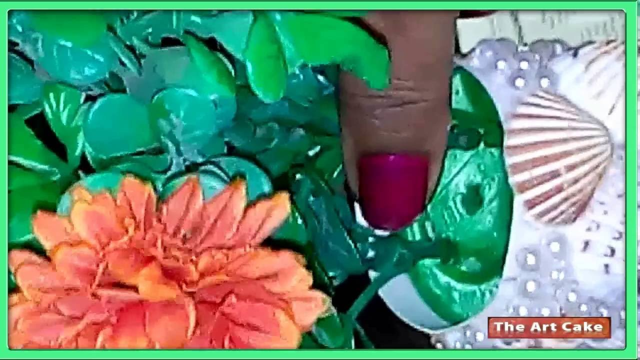 Diy sea shell craft how to make flower vase youtube reviewsmspy
