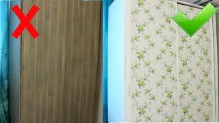 Бюджетный РЕМОНТ старой МЕБЕЛИ СВОИМИ РУКАМИ /ПЕРЕДЕЛКА шкафа из Икеи / DIY