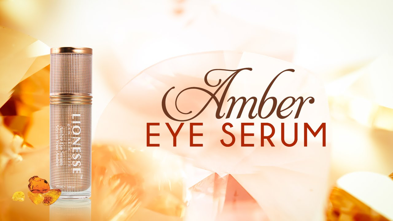 Lionesse Gem Amber Eye Serum Demo Youtube