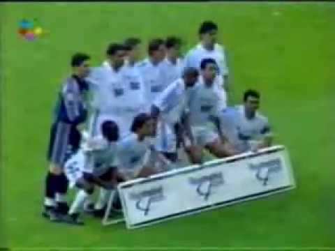 Real Madrid 2 Real Valladolid 1 (Liga 2000-2001) Despedida de Sanchís
