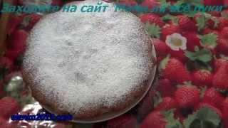 Пирог манник на кефире рецепт