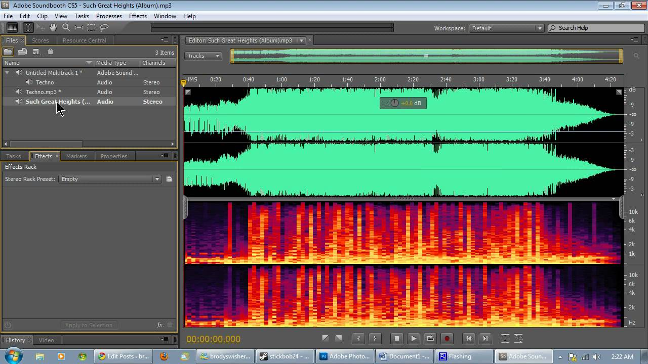 adobe sound booth