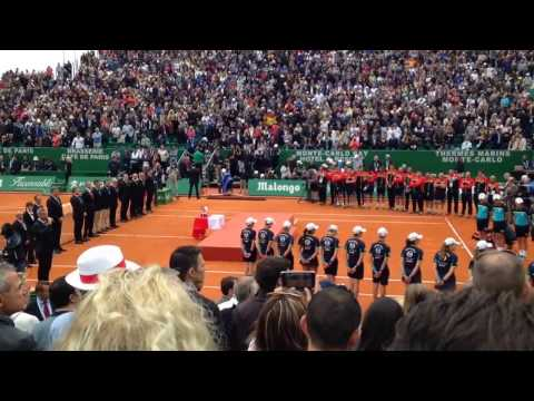 Rafael Nadal Celebration Ceremony FULL Monte Carlo Rolex Masters