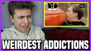 One of Gabe Erwin's most viewed videos: Top 10 Strangest Addictions... [Reaction]