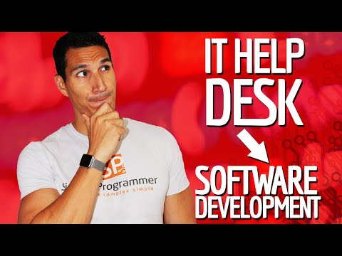 IT Help Desk Job To Software Development?