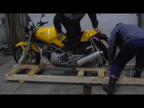 Вопрос: Как перевезти мотоцикл?