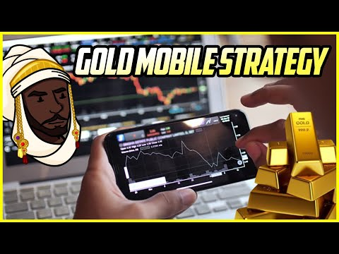 """forex-mobile-strategy:-turn-$100-to-$800+-in-one-day-scalping-""""gold""""-from-your-phone!"""