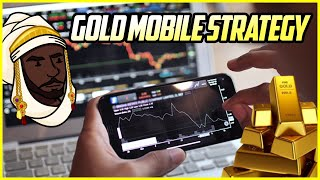 "FOREX MOBILE STRATEGY: MAKE $800+ A DAY SCALPING ""GOLD"" FROM YOUR PHONE!"