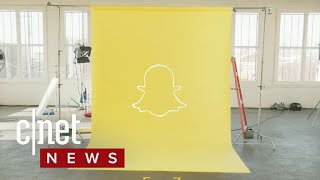 New Snapchat app redesign (CNET News)