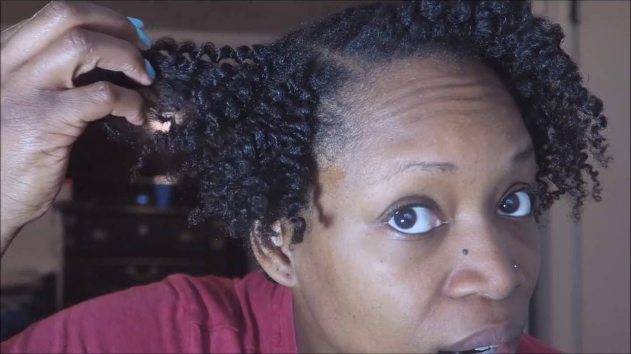 Foaming Wrap Lotion On Natural Hair