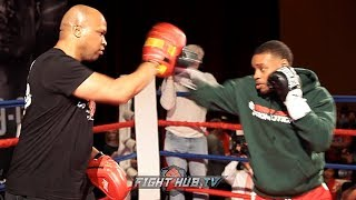 errol-spence-gives-sneak-peak-of-fight-night-shape-for-fans-at-grand-arrival-in-dallas