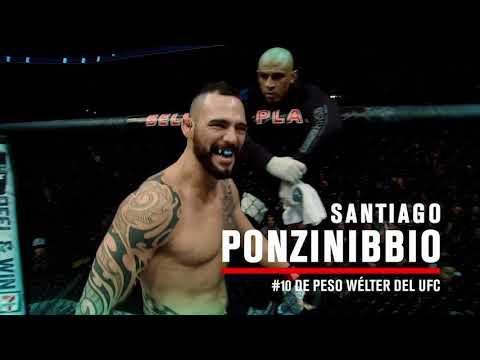 UFC Argentina: Santiago Ponzinibbio Te Invita A Asistir