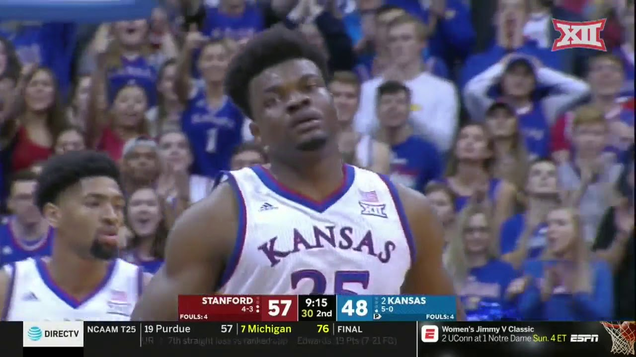 kansas-vs-stanford-men-s-basketball-highlights