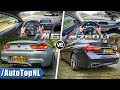 BMW M6 Gran Coupe vs 7 Series M760Li xDrive ACCELERATION TOP SPEED Exhaust SOUND & POV by AutoTopNL