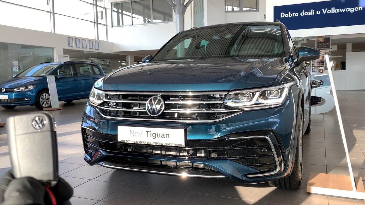 New Volkswagen TIGUAN 2021 (Facelift) - IQ LED lights ...