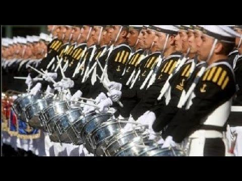 Armada de Chile:Ceremonia Naval-21 de Mayo 1995.Parada
