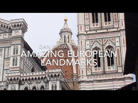 Origins - Dan Brown locations - Amazing European landmarks in the Robert Langdon novels