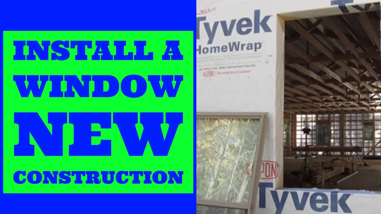 How To Install A Window Double Hung New Construction You