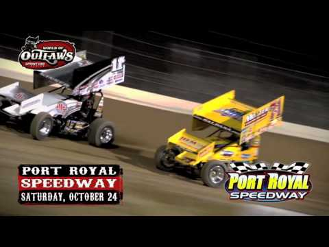World Of Outlaws Port Royal Speedway October 24th!