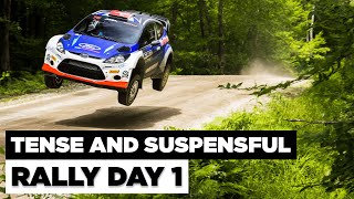 New England Forest Rally 2021 - Day 1 HIGHLIGHTS