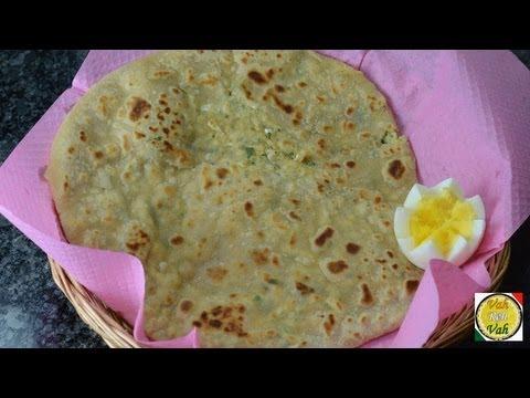 Masala Egg Paratha  - By Vahchef @ vahrehvah.com
