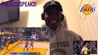 Future HALL OF FAME LAKER?! Lonzo Ball Rookie Highlights.. Fresco SPEAKS! *Reaction*
