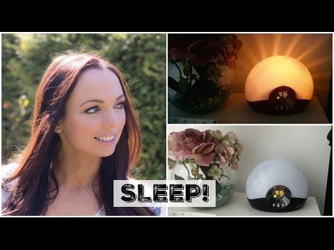 SLEEP yourself thin?! My Lumie Sunrise Alarm Clock Review!