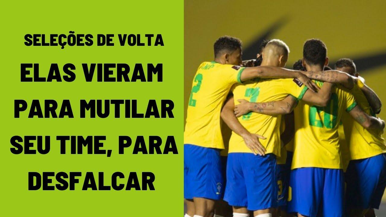 """Seleção desfalca times e têm """"reforço"""" da convocação olímpica: uma piada. Flamengo é o mais afetado"""