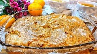 Яблочный Сахарный Пирог - ТАЕТ ВО РТУ! Пирог с яблоками. Простой рецепт. Выпечка в духовке