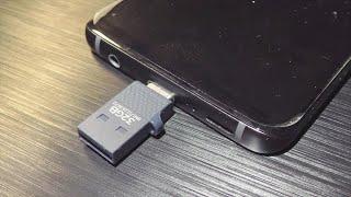 Микро флешка USB Type-C для Android обзор и тесты SanDisk 32 Gb