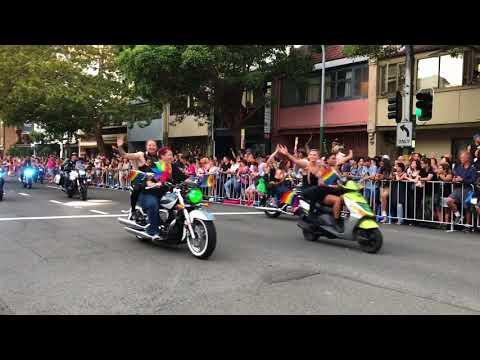 Dykes on Bikes - Sydney Mardi Gras 2018