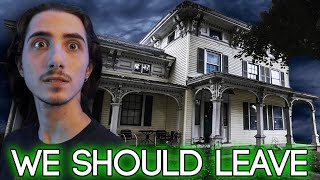 Investigating Haunted MANSION - We Were Not Welcome