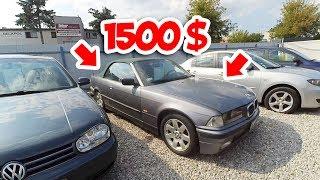 видео Где купить недорого подержанный автомобиль?