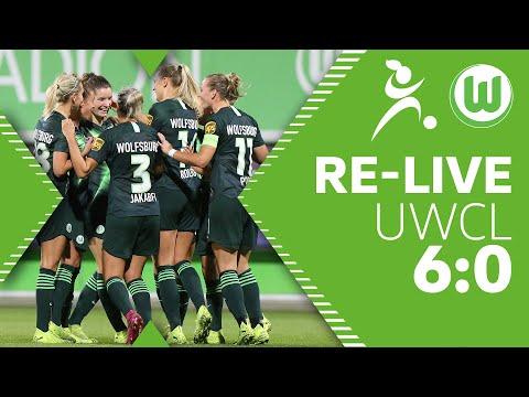 VfL Wolfsburg - Twente Enschede 6:0 |Re-Live | UEFA Women's Champions League