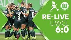 VfL Wolfsburg - Twente Enschede 6:0  Re-Live   UEFA Women's Champions League