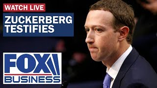 FOX Business Zuckerberg grilled by Congress on Facebook Libra